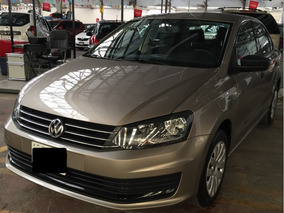 Volkswagen Vento 1.6 Starline Autmático Beige Titanio