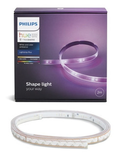 Philips Hue Base Tira Led White And Color Lightstrip Plus 2m
