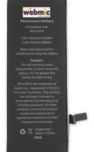 Imagem 1 de 4 de Bateria Apple iPhone 6 - Premium
