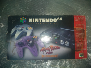 Nintendo 64 Con Caja Y 4 Cartuchos
