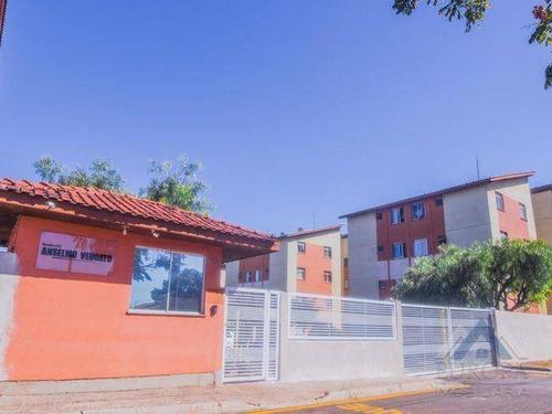 Apartamento À Venda, 55 M² Por R$ 120.000,00 - Nova Olinda - Londrina/pr - Ap0454