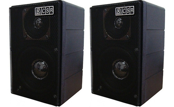 2 Caixas De Som Ambiente Csr 75m 40w Rms Cada
