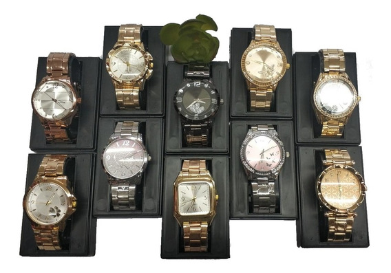 Promocao Kit Relógio Feminino Lote C/15pcs Atacado E Revenda