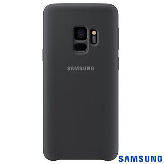 Capa Para Galaxy S9 Silicone Cover Preta - Samsung
