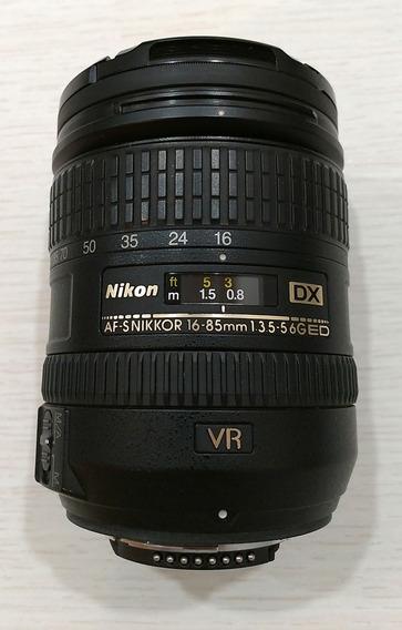 Baixou! Lente Nikon 16-85