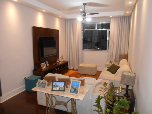 Apartamento Com 3 Dormitórios À Venda, 127 M² Por R$ 695.000,00 - Aparecida - Santos/sp - Ap4285