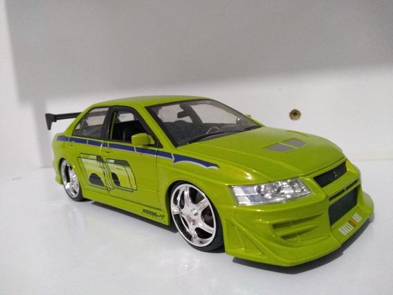 Mitsubishi Lancer Evo Velozes 1/24 Jada Toys