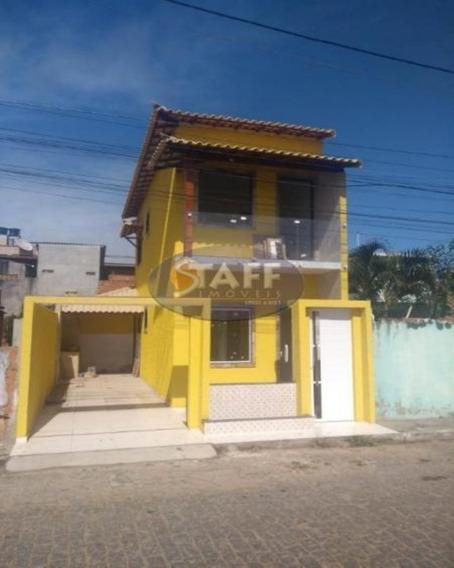 Casas 2 Quartos Para Venda Em Cabo Frio / Rj No Bairro Unamar - Ca1089 - 67806266