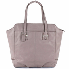 Bolsa Coach Original Taylor Leather North Tote Bag - Putty