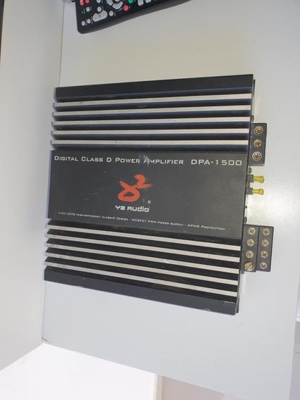 Módulo Amplificador Digital Y2 Áudio Dpa 1500
