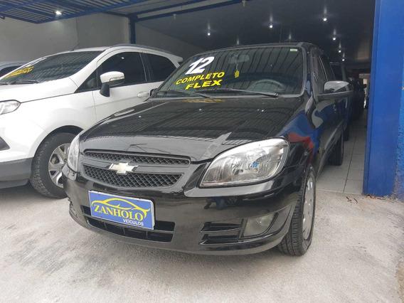 Chevrolet Celta 1.0 Lt Flex 2012 Preto Completo