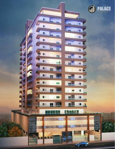 Apartamento Com 2 Dormitórios À Venda, 80 M² Por R$ 534.000,00 - Caiçara - Praia Grande/sp - Ap2646
