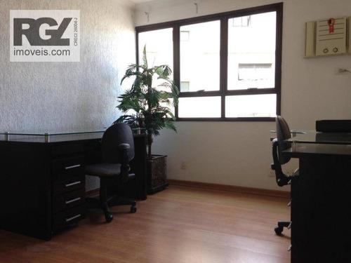 Sala, 60 M² - Venda Por R$ 270.000,00 Ou Aluguel Por R$ 3.200,00/mês - Embaré - Santos/sp - Sa0159