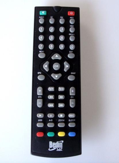 Controle Remoto Conversor Digital Bedin Sat / Original