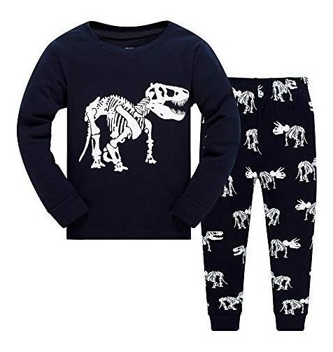 Ninos Ninos Pijamas Dinosaurio Ropa Para Ninos Pequenos Mang
