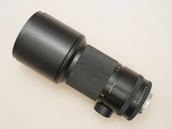 Baixou, Lente Carl Zeiss Tele Tessar 4 300mm C/y Canon