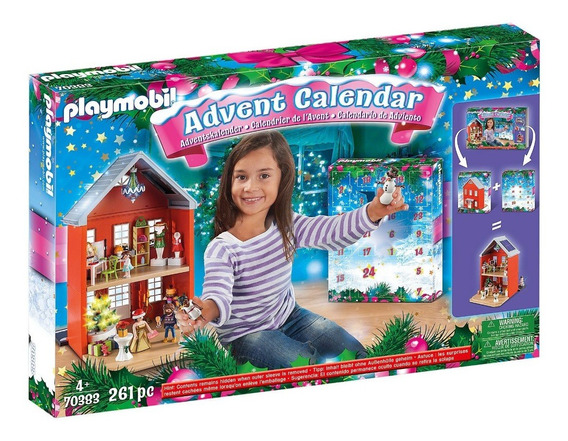 Playmobil 70383 Grande Calendário De Natal - Casa Da Cidade