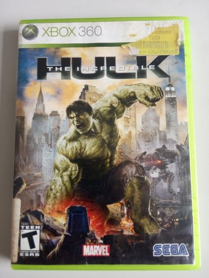 The Incredible Hulk Xbox 360 Jogo Raro Original