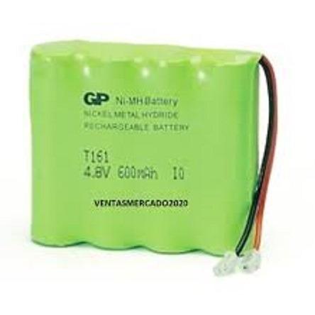 Bateria Gp Nimh T161 4.8v 600mah (5 Americanos)