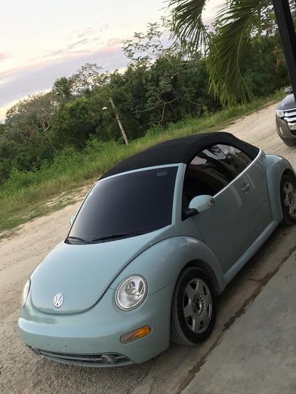 Volkswagen New Beetle Convertible (negociable)