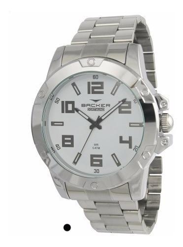 Relógio Backer Masculino 6445123m Br, C/ Garantia E Nf