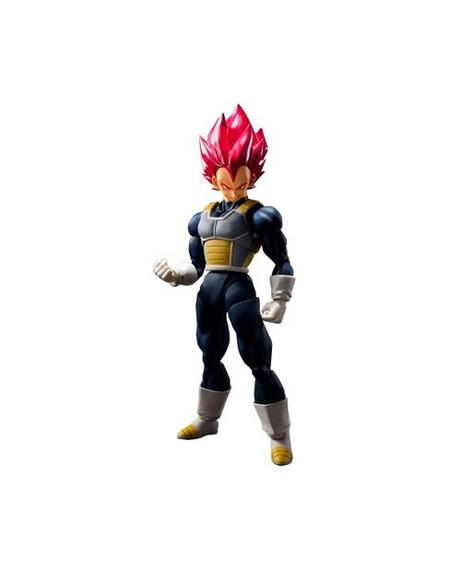 Dragonball Super Saiyan God Vegeta - S.h.figuarts - Bandai