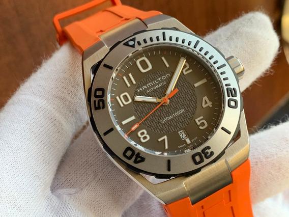 Relógio Hamilton Khaki Navy Date Diver Automatic H78615985