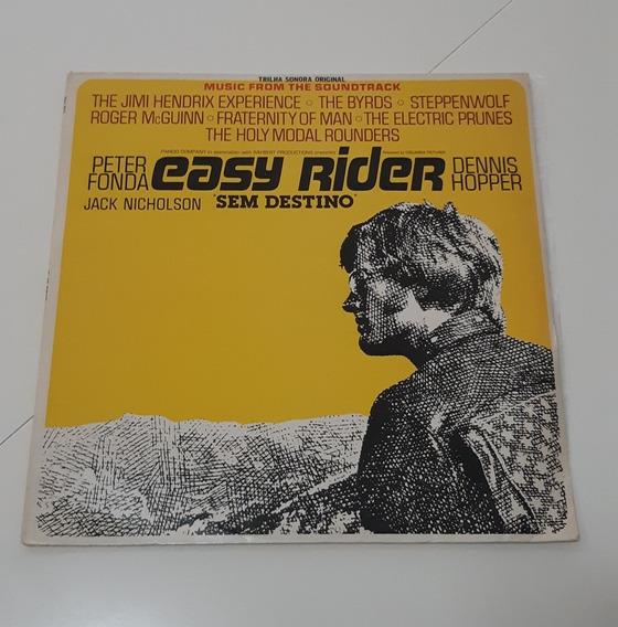 Lp Easy Rider - Trilha Do Filme Sem Destino