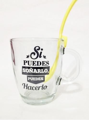 Pack 15 Tazas Para Desayunos +cuch/para Colgar De Regalo!!
