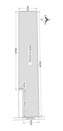 Imagen 1 de 5 de Terreno Industrial En Lerma De 25,5434 M2