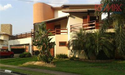 Casa Residencial À Venda, Condomínio Residencial Terras Do Oriente, Valinhos. - Ca4230