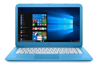 Notebook Hp Stream 14-cb011 Celeron N3060 14 4gb 32gb Emmc