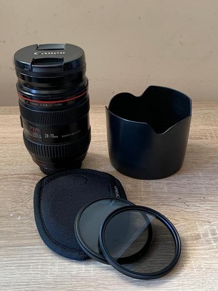 Canon 24-70 2.8 I + Filtros Tiffen