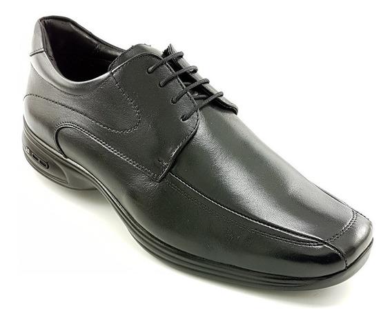 Sapato Couro Social Masculino 45-48 Jota Pe 3d Vision 71454g