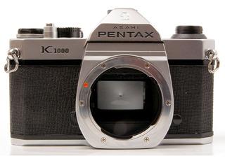 Pentax Asahi K1000 Para Reparar Solo Cuerpo