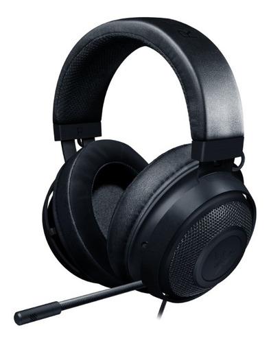 Headset Gamer Razer Kraken  Multiplataforma Preto