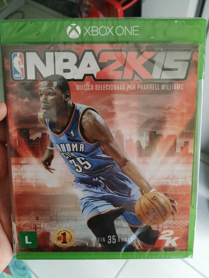 Nba 2k 15 Xbox One Mídia Física Lacrada Pronta Entrega