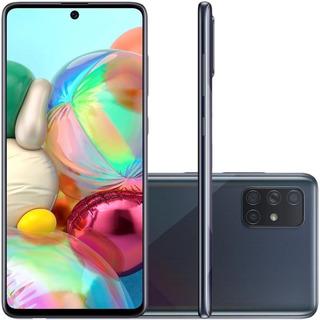 Smartphone Samsung Galaxy A71 128gb Dual 6,7 4g Octa Preto