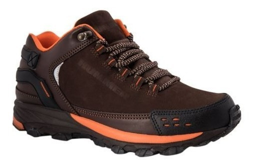 Zapato Tenis Hiker Hummer M411 D170574 Cafe Hombre