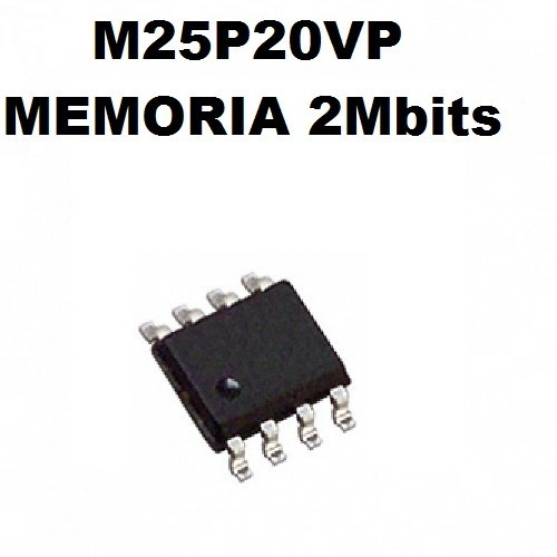 M25p20vp Smd Memoria 2mbits 3 Unidades