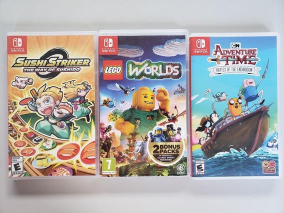 Lote Jogos Originais De Switch
