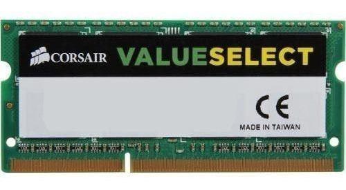 Memória Corsair 8gb (1x8) Ddr3 1600mhz Value Select 204-pin