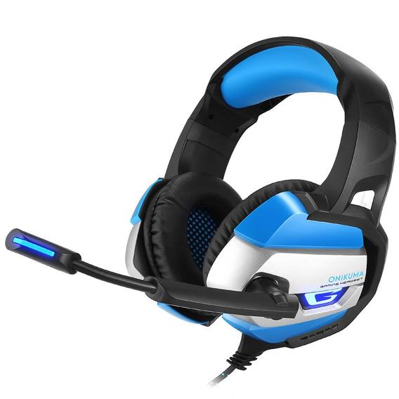 Onikuma Azul 3 5 Mm Para Auscultadores Onikuma Gaming