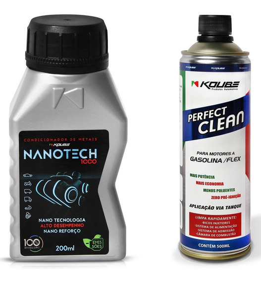 Nanotech Condicionador 200ml + Perfect Clean Motor 500ml