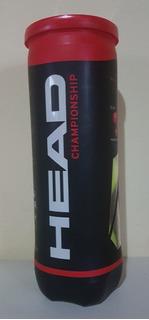 Tubo Pelotas X 3 Tenis Head Championship