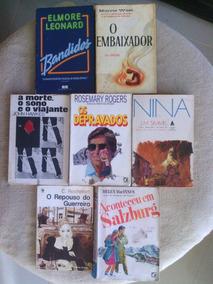 Coleção 07 Livros De Literatura/romances Antigos- Promoção §