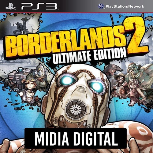 Ps3 Psn* - Borderlands 2 Ultimate Edition + Dlcs