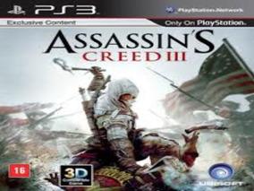 Assassins Creed 3 Ps3 Dublado Br - Cód Psn Envio Via Email