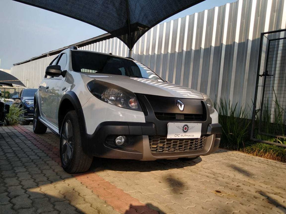 Renault Sandero Stepway Rip Curl Sl 1.6 2012 Branco - Flex