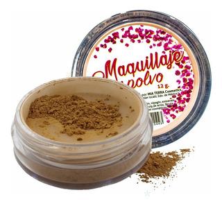 Base Maquillaje En Polvo De Arroz Mia Terra Cosmetics
